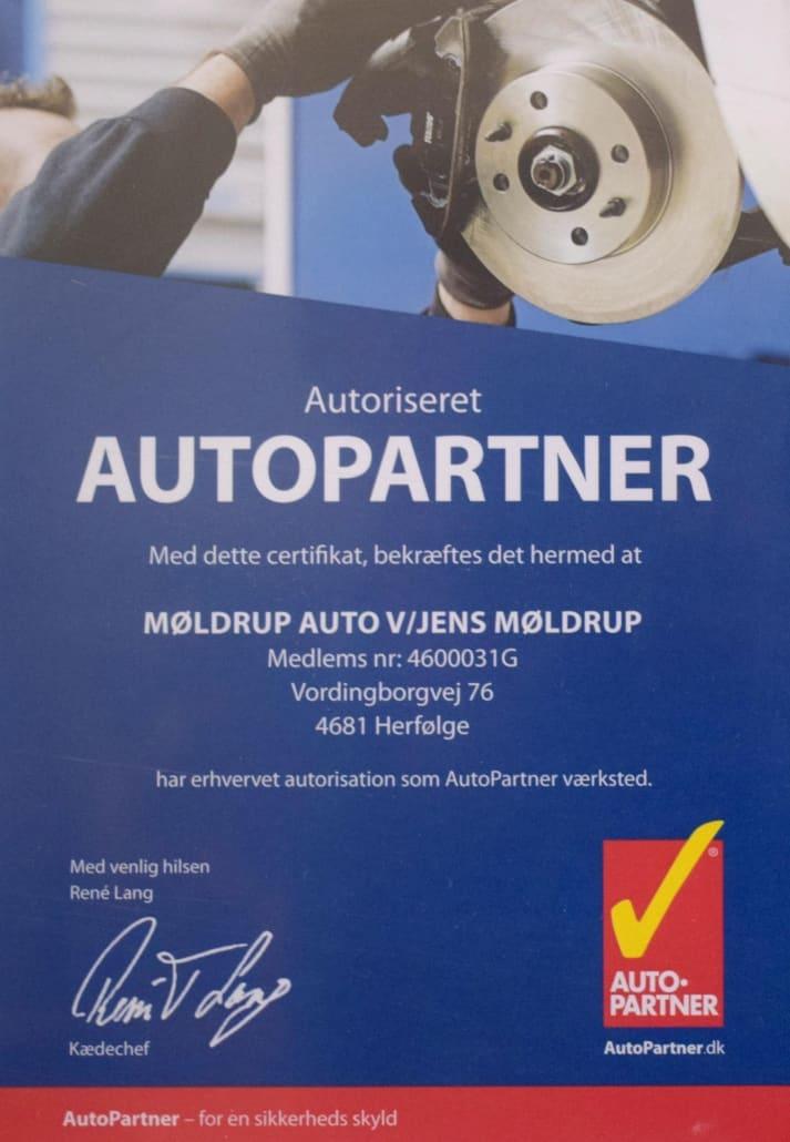 AutoPartner værksted